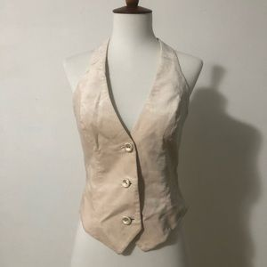 BEBE Collection Beige Vest